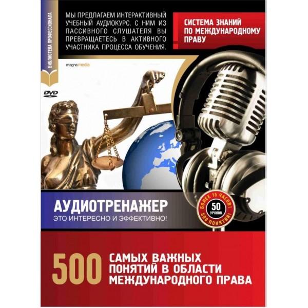 Система знаний по международному праву.